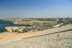 Aswan High Dam (RunningRalph) Tags: aswan aswandam dam highdam nijl nile river rivier manteqetassadalaali aswangovernorate egypte eg
