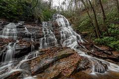 Horsethrough Falls (Jon Ariel) Tags: ne northgeorgia georgia ga waterfall