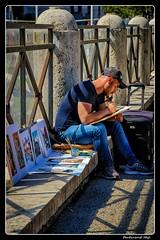 Roma_Foro di Cesare_Via dei Fori Imperiali_Street painter (ferdahejl) Tags: roma forodicesare viadeiforiimperiali dslr canondslr canoneos800d streetpainter