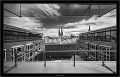 Lübeck, Germany (Dierk Topp) Tags: architecture lübeck a7r architektur bw bäume churches ilce7r infrared ir kirche kirchen luebeck monochrom sw sony trave trees voigtlanderheliarhyperwide10mmf56aspherical