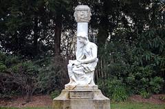The Cenotaph in the Arena of Lutetia (vorotnik1) Tags: cenotaph statue latin quarter lutetia arena art