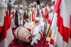 Christmas Celebrations (Leonid Plotkin) Tags: africa celebration christian christianity christmas church ethiopia festival lalibela pilgrim pilgrimage pilgrims religion religious tradition traditional