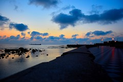 Horizon (marcoragusa1) Tags: italia italy europe toscana livorno sunset tramonto landscape mare sea sky clouds colors nofilter sera reflex evening city beautiful beauty love mirror horizon orizzonte photo photography picture nikon nikond3300 d3300 spring summer travel capture nature flickr amateur light moment