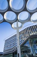 bubble roof (beeldmark) Tags: zonnig nederland utrecht station lucht thenetherlands オランダ building nature netherlands sky sunny hemel nl trainstation beeldmark