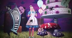 Enchantment - You Have Made My Life A Fantasy (lauragenia.viper) Tags: banananroawenwood bento chloe enchantment herart lelutka mooh nantra peaceb6peace secondlife secondlifefashion sorumin static thehalfmoonmarket wasabi ysys fantasy aliceinwonderland avatar virtual quirky balloon mushroom cake grass hunt huntgift