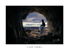 Cave Views over the valley (sugarbellaleah) Tags: male watching views scenery chillout sitting rocks rocky mountains cave window natureenvironment sky clouds valley pretty beautiful landscape bluemountains hoodie cold winter chilly geology pagodas horizon awesome people relax leisure recreation youngadult lithgow australia