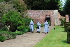Nuns in the sun...a peaceful walk (Martellotower) Tags: nuns mulgrave estate north yorks garden sunny peaceful walk