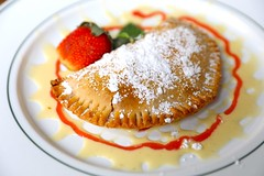 1B5A5636 (David Danzig) Tags: garden gun club the battery atlanta restaurant dessert rhubarb hand pie