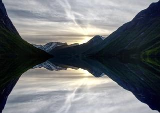 Sunset Reflections (Explored)