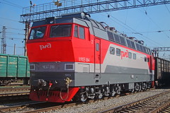 CHS4T-318 (zauralec) Tags: электровоз локомотив rzd ржд станция курган kurgan park station z чс4т chs4t chs4t318 318 чс4т318