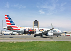 N116AN AA A321 Avengers Stand up to Cancer Special Livery (jp.marottta) Tags: n116an a321 americanairlines aa avengers standuptocancer speciallivery loganairport kbos boston marvel marvelcomics