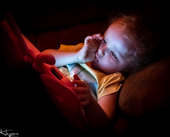 Available Light (Wayne Cappleman (Haywain Photography)) Tags: wayne capleman haywain photography portrait children daughter rainbowbaby available light ipad sleepy dreams farnborough hampshire