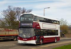 So shiny and new! (SRB Photography Edinburgh) Tags: lothian buses bus new edinburgh transport volvo 8 road trees