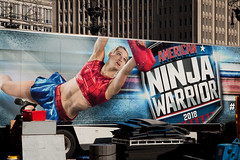 American Ninja Warrior Comes to Town, Indianapolis, IN (Roger Gerbig) Tags: americanninjawarrior indianapolis indiana monumentcircle rogergerbig canoneos5dmarkii canonef24105f4