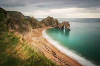 Grey Day at Durdle Door
