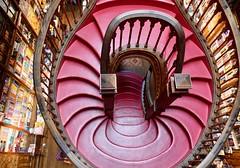 Treppe in der Buchhandlung Lello Livraria, Porto (elkem2) Tags: porto harry potter 652018