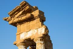 Tempio dei Dioscuri (silvio azzaro) Tags: tempio dioscuri greco agrigento valle dei templi