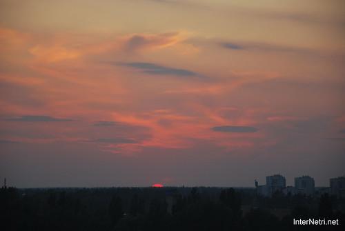 Небо Захід сонця InterNetri Ukraine  12
