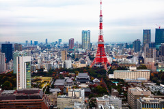 Tokyo city skyline at dusk, Tokyo Japan (Patrick Foto ;)) Tags: tilt–shift aerial architecture asia beautiful blue blur building buildings business city cityscape day destination district downtown dusk evening famous japan japanese landmark landscape metropolis modern night observation outdoor place roppongi scene scenery scenic shift sky skyline skyscraper sunset tilt tokyo tourist tower toy travel twilight urban view minatoku tōkyōto jp