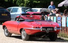 GKL 480D (Nivek.Old.Gold) Tags: 1966 jaguar etype 42 roadster
