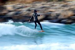 """Nicolas Garcia """"Movimiento"""" (omar suarez asturias) Tags: surf surfing longboard longboarding 150600mm canon asturias gijon aviles oviedo españa spain nikidora europa europe colors colores primavera olas ola wave waves"""