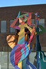 Stony Plain Art (Vegan Butterfly) Tags: outside outdoor city urban edmonton alberta stony plain art sculpture person woman