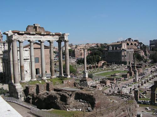 Римський форум, Рим, Італія InterNetri Italy 394
