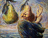 'Lyricism' by Rene Magritte (Greatest Paka Photography) Tags: renemagritte art artist color pear belgian surrealist sfmoma museum political caricature painting
