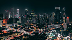 Singapore Cityscape HDR (hackdragon) Tags: singapore cityscape chinatown cbd central business district light building skyscraper high rise apartment office towers tower shophouse shop road economics infrastructure amazing beautiful wallpaper malvin ng long exposure low sony a7r ii 2470mm gmaster gm f28 sg minister pap wp dynamic range asia asian travel