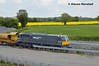 079 at Portarlington, 17/5/18 (hurricanemk1c) Tags: railways railway train trains irish rail irishrail iarnród éireann iarnródéireann portarlington 2018 generalmotors gm emd 071 pwd 079