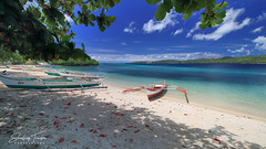 Noontime Shade (engrjpleo) Tags: suguicayisland bulalacao mindorooriental mimaropa philippines beach sand sea seascape landscape seaside shore coast water waterscape boat outdoor tropical