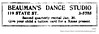 1929 beauman's dance studio (albany group archive) Tags: albany ny history 1929 beaumans dance studio state street 119 1920s lessons