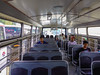 People sitting on local bus (phuong.sg@gmail.com) Tags: africa background blue bus cabin car chair city commute commuter empty green grip handle indian inside interior light mauritius metal modern motion passenger people place portlouis public railroad rider seat society traffic tram transport transportation trolley turnstile urban vehicle window