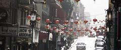 Chinatown (AAcerbo) Tags: sanfrancisco chinatown sun light streetscene widescreen