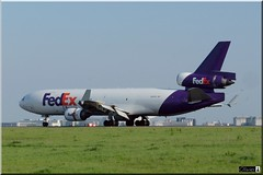 N601FE, Federal Express (FedEx), McDonnell Douglas MD-11F (OlivierBo35) Tags: spotting spotter cdg roissy fedex md11 douglas