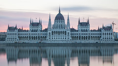 The magnificent Budapest Parliament (HansPermana) Tags: budapest hungary ungarn city oldtown kingdom cityscape architecture danube river reflection parliament water longexposure europe eu europa centraleurope spring 2018 april