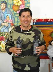 Antonio Pedro Ceramic Artist Oaxaca Mexico (Ilhuicamina) Tags: potters mexican oaxacan coyotepec barronegro blackpottery artists antoniopedro gente