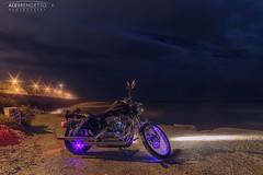 ALBR_6D__MG_7235-Edit-copy.jpg (Alessio Brengetto) Tags: 2018 night harley cloud davidson harleydavidson lighthouse bike mijas may clouds