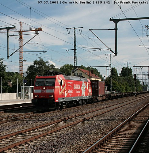Railion 185 142 in Golm