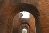 Brick arches in the Forum (matthewjoldfield) Tags: rome roman italy tourist stroll history arches lightandshade window brick perspective spingtime warm