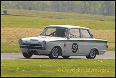 Cadwell Park Wolds Trophy 2018 (ladythorpe2) Tags: historic sports car club cadwell park wolds tropht 2018 45 rupert ashdown lotus elan louth lincolnshire uk 52 mike stephenson ford cortina