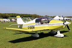 G-BAEM (GH@BHD) Tags: gbaem robin dr400120 petitprince dr400120petitprince pophammicrolighttradefair2018 pophamairfield popham aircraft aviation