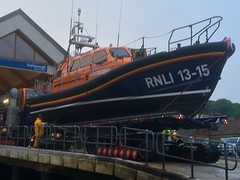(phil da greek) Tags: scarborough northyorkshire uk southbay lifeboat rnli shannonclass