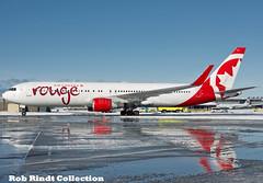 Air Canada Rouge B767-333/ER(WL) C-FMWP (planepixbyrob) Tags: aircanada canada rouge aircanadarouge boeing 767 cfmwp yvr vancouver vancity digital nikon