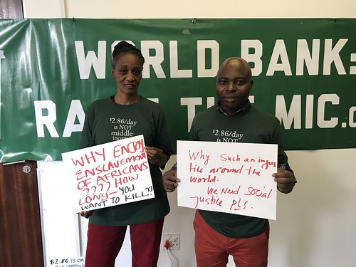 World Bank Campaign March 24th, 2018 - South Africa