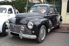 Peugeot 203 (Monde-Auto Passion Photos) Tags: voiture vehicule auto automobile peugeot 203 berline noir ancienne classique rare rareté france courtenay rassemblement evenement
