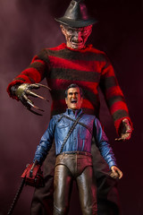 Ash's Nightmare (Drummy ™©) Tags: evildead brucecampbell ash movie toys toyphotography dramatic cinematic funny horror comedy scream onesixth freddy nightmare nightmareonelmstreet