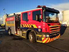 FZM  83 (ambodavenz) Tags: scania p310 fraserfirerescue fireappliance fireengine fire timaru southcanterbury newzealand fireemergencynewzealand fenz primeport