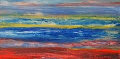 Weird landscape (Peter Wachtmeister) Tags: artinformel mysticart modernart popart artbrut phantasticart acrylicpaint abstract abstrakt surrealismus surrealism hanspeterwachtmeister