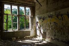 Sunlight (HWW) (KPPG) Tags: beelitz brandenburg germany deutschland hww fenster window ruine ruin abandoned verlassen